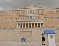 Hellenic Parliament of Greece - Athens royalty free stock images
