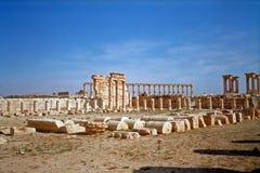 Hellenistic alte Stadt, Palmyra, Syrien Stockbilder