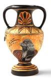 Hellenistic Amphoreandenken der Wiedergabe Stockfotos