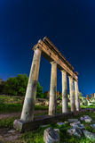 Hellenistic Gymnasium, Kos island, Dodecanese, Greece. The Hellenistic Gymnasium, also known as Xisto, is part of a complex of the Hellenistic and Roman periods Royalty Free Stock Photography