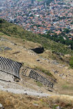 The Hellenistic Theater in Pergamon. Turkey Stock Photos