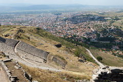 The Hellenistic Theater in Pergamon Royalty Free Stock Images