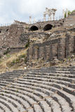 The Hellenistic Theater in Pergamon Stock Images