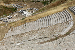 The Hellenistic Theater in Pergamon Stock Photography