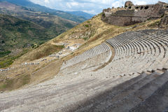 The Hellenistic Theater in Pergamon Royalty Free Stock Photography