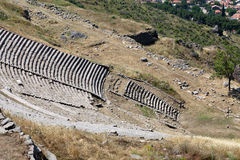 The Hellenistic Theater in Pergamon Royalty Free Stock Image