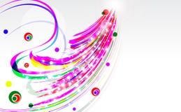 Heller abstrakter Hintergrund. Stockfoto