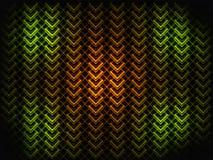 Heller abstrakter Hintergrund Geometrische Formen mit Farbeffekten Stockbild