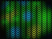Heller abstrakter Hintergrund Geometrische Formen mit Farbeffekten Lizenzfreie Stockfotografie