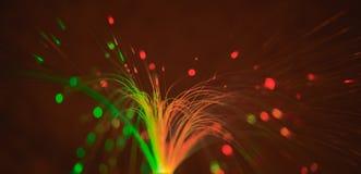 Heller abstrakter Hintergrund von Lichtern stockfotografie