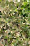 Heller abstrakter Kreis-bokeh Hintergrund punktierter Abend stock abbildung