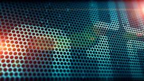 Heller Aufflackerntechnologie-Designhintergrund Lizenzfreie Stockbilder