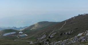 Heller Berg Stockfoto