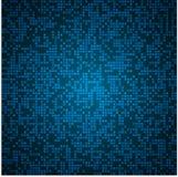 Heller blauer Mosaikhintergrund Stockfotos