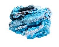 Heller blauer rauer Hemimorphite von Wenshan, Yuunan-Provinz, China Lizenzfreie Stockbilder