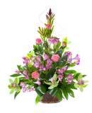Heller Blumenblumenstrauß Stockfotos
