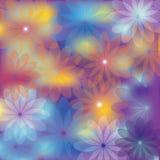 Heller Blumenhintergrund für verschiedenen Entwurf Lizenzfreie Stockbilder