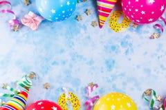 Heller bunter Karneval oder Partyszene lizenzfreie stockfotos