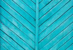 Heller bunter tiefer blauer hölzerner Hintergrund Stockfotos