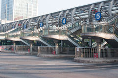 HELLER Busbahnhof Lizenzfreie Stockfotos