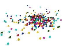 heller Farbenhintergrund Stockfoto