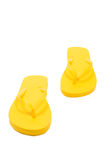Heller farbiger Flip Flops Isolated On White Lizenzfreies Stockbild