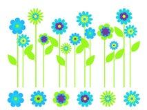 Heller Frühlings-Blumen-Garten Lizenzfreie Stockbilder