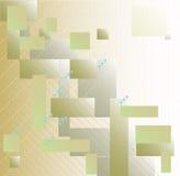 Heller geometrischer Hintergrund Lizenzfreie Stockfotografie