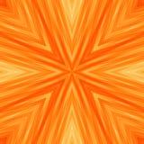 Heller gestreifter eckiger Hintergrund von Sunny Colors Orange Stockfotografie