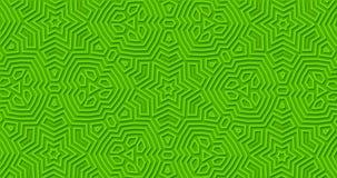 Heller grüner geometrischer Matthintergrund Abstrakte geschlungene Bewegung der Entwürfe Formen vektor abbildung