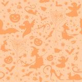 Heller Halloween-Hintergrund Lizenzfreies Stockfoto