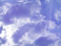 Heller Himmel Stockbild