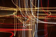 Heller Hintergrund Lightsbackgroung beleuchtet backgroundlights Stockbilder