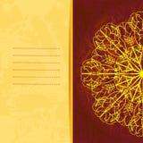 Heller Hintergrund mit orientalischem Muster lizenzfreie abbildung