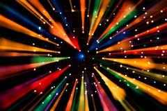 Heller Hintergrund von Lichtern Stockfotos