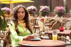 Heller Kaffee lizenzfreies stockfoto