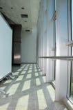 Heller Korridor Stockbild