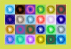 Heller mehrfarbiger Hintergrund Lizenzfreies Stockbild