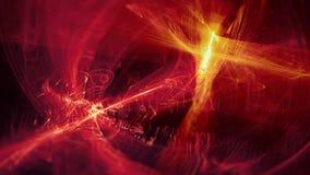 Heller moderner abstrakter Hintergrund der Raumphantasie Fractal-Grafik lizenzfreie stockfotografie