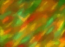 Heller moderner abstrakter Tarnungsentwurf in den Grüns und im Braun vektor abbildung