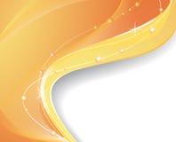 Heller orange Hintergrund Stockfotos