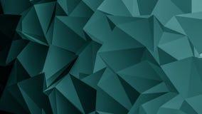 Heller Polygon-Hintergrund stockbild
