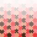 Heller Puzzlespielhintergrund, Illustration Lizenzfreie Stockfotos