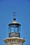Heller Raum des Leuchtturmes Stockfoto