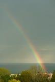 Heller Regenbogen stockfotos