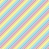 Heller Regenbogendiagonalhintergrund Stockfoto