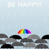 Heller Regenschirm vektor abbildung