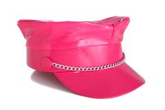 Heller rosafarbener Hut Lizenzfreie Stockbilder