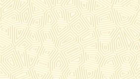 Heller sauberer abstrakter geometrischer Hintergrund Minimale dünne Linien bewegen sich endlos stock abbildung