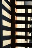 Heller Schatten und Stangen Stockfotos